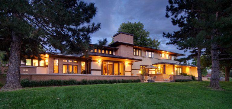 Prairie style custom home