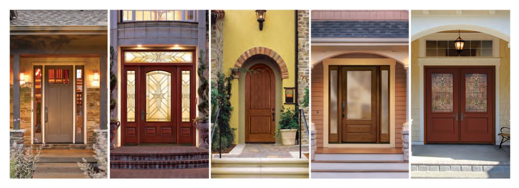 Variety of front door options