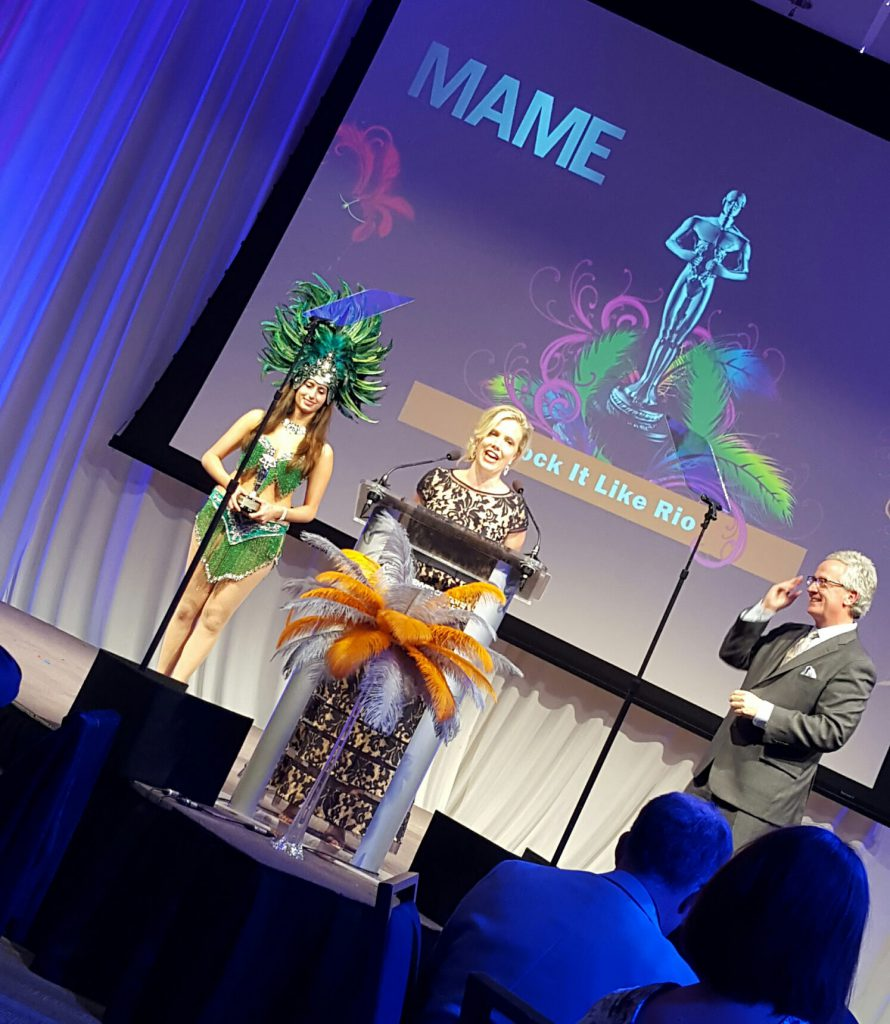 Jennifer Williams accepts 2015 MAME Award