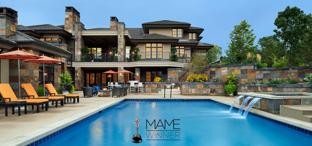 MAME Winner for Best Custom Home by KGA Studio Architects
