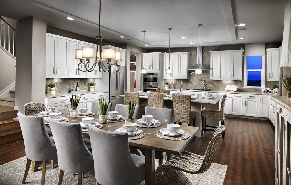 Ascend Kitchen - KGA Studio Architects. Builder: Epic Homes