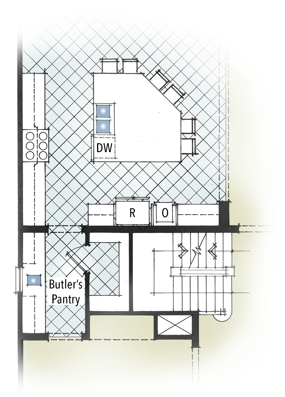 100 House Plans With Butlers Pantry Baby Nursery