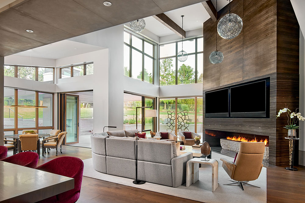 Audio Visual considerations, such as televisions, are a great home technology upgrade for remodels