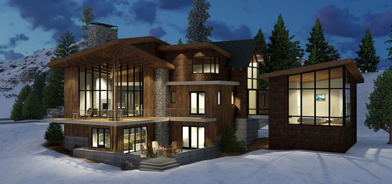 Mountain Modern Home