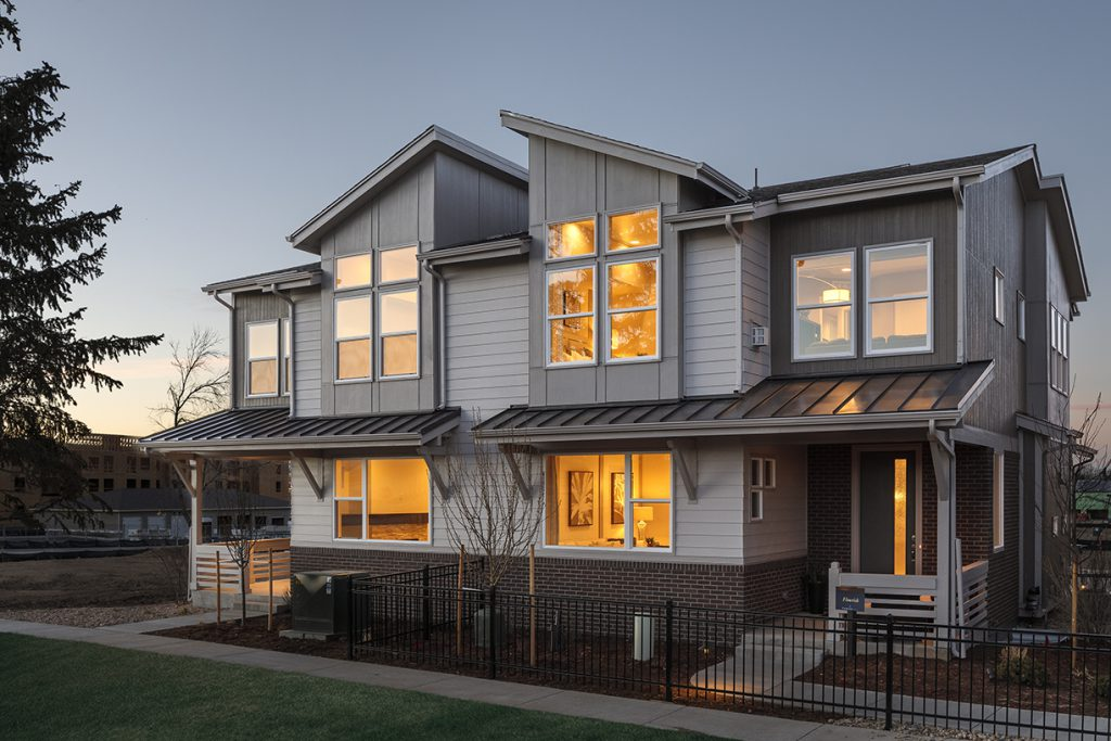 Paired home at Green Gables in Lakewood, Colorado