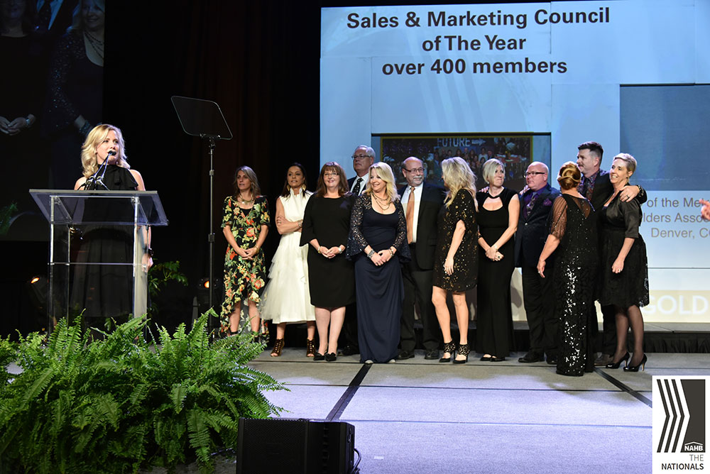 Denver Sales and Marketing Council named SMC of the year at Nationals