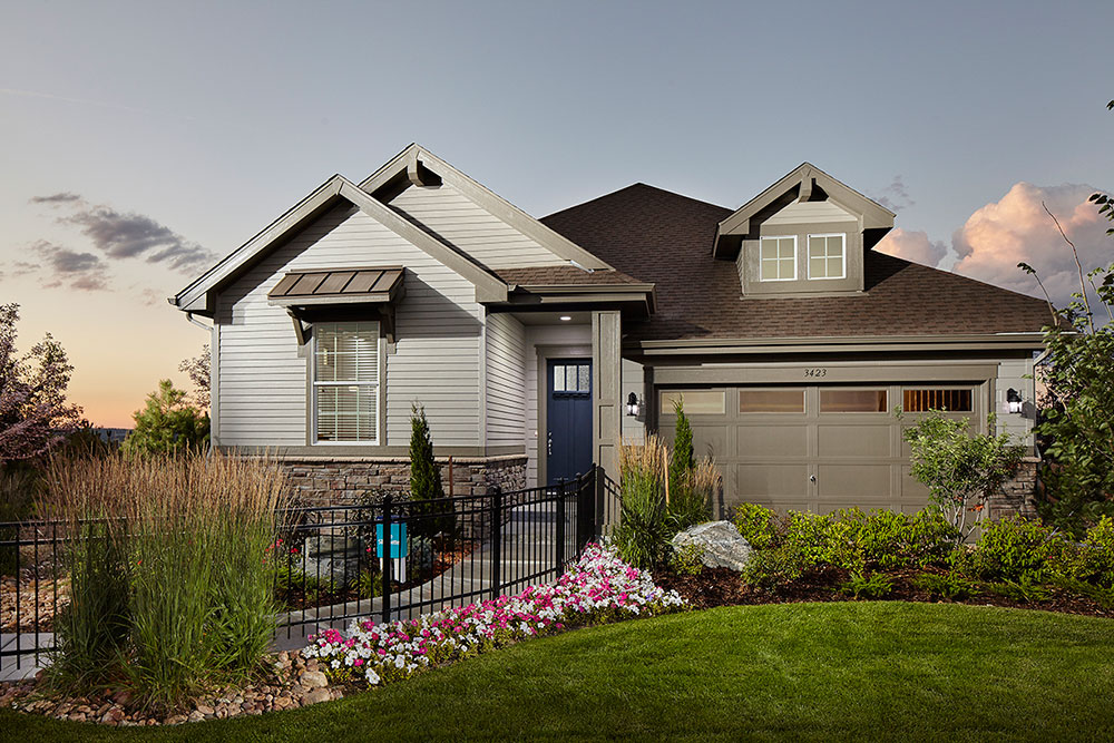 Curb appeal is 3-dimensional! Make sure the wrap materials to an inside corner.
