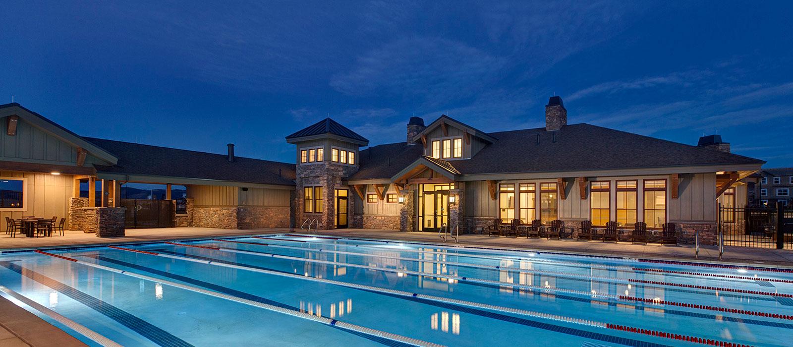 Candelas Swim and Fitness Club by KGA Studio Architects