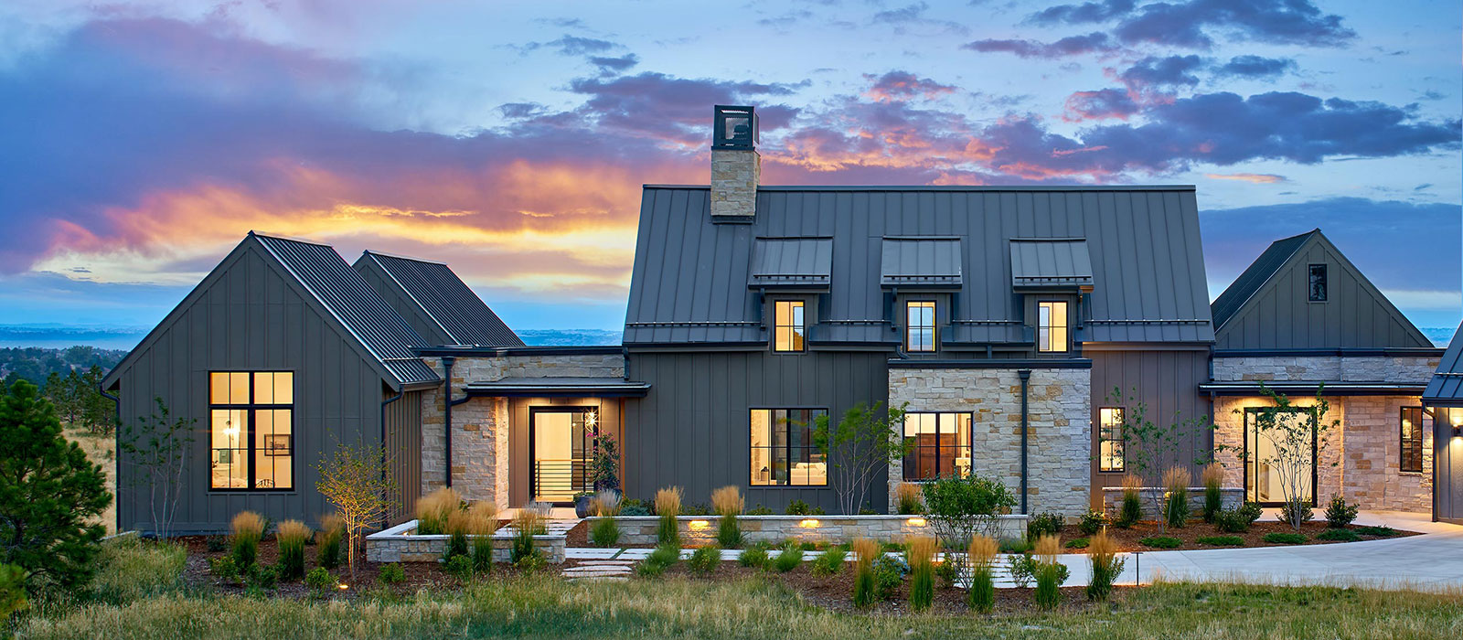 Contemporary Farmhouse by KGA