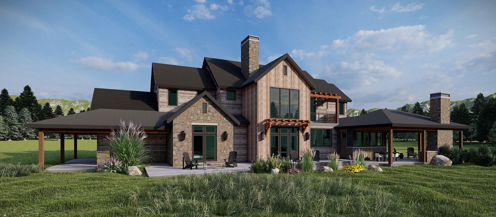Custom home in Bozeman, Montana designed by KGA Studio Architects