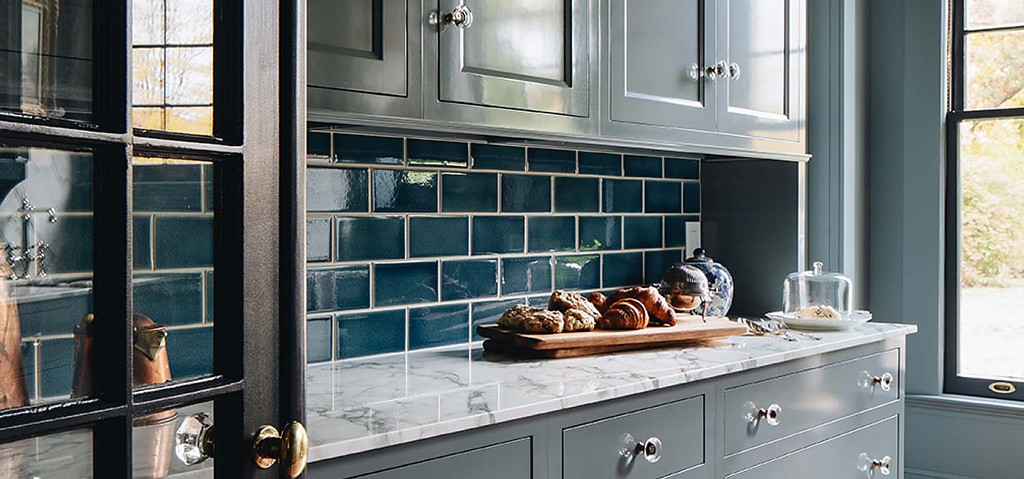 The Crackle Tile line by Kohler is a great example of beautiful, sustainable home design.