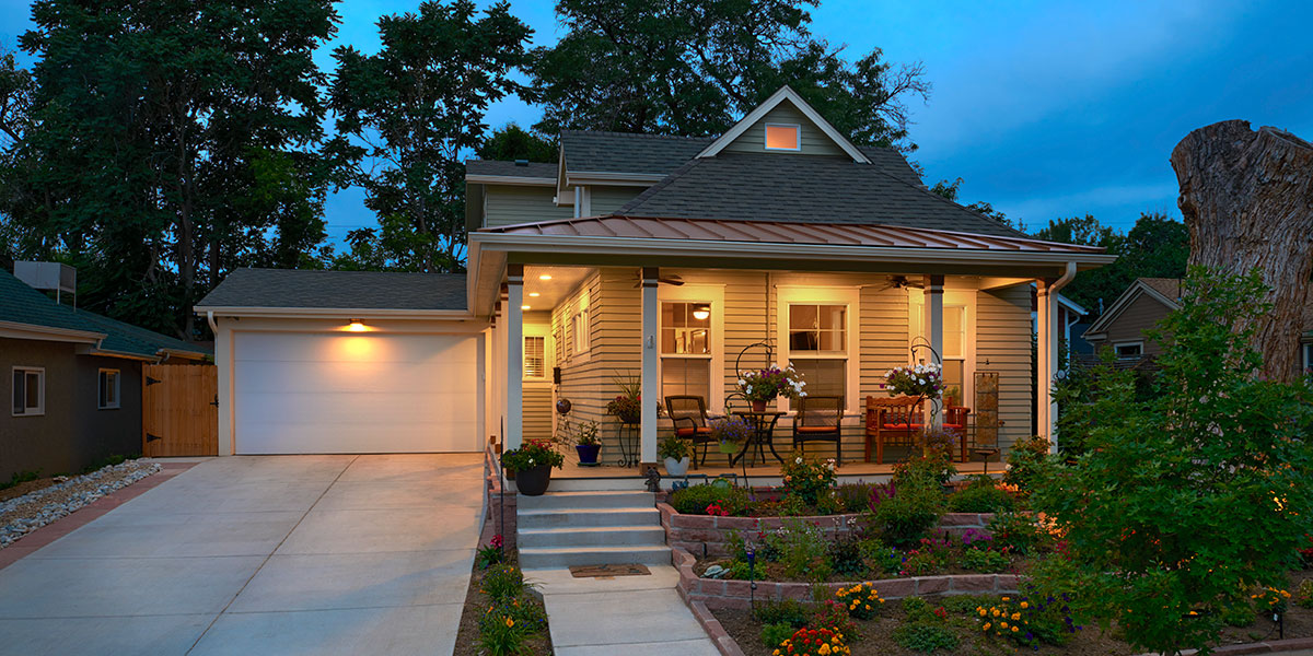 Remodeled historic home in Louisville, CO, by KGA